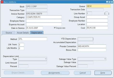 Oracle Assets User Guide