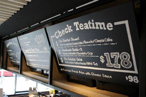 home menu board design customizable chalkboard menus menu board design