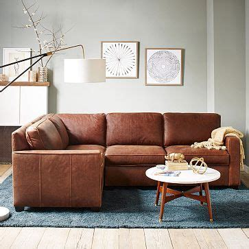 west elm leather sectional 1000 ideas about leather sectional sofas on pinterest