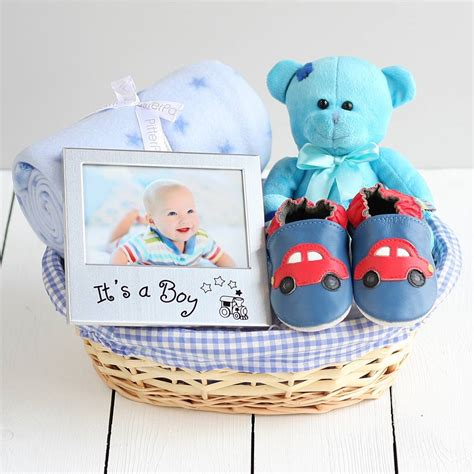 gifts for from baby beautiful boy new baby gift basket by snuggle