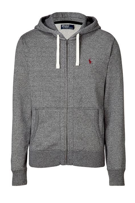 Sweater Polo Jaket Fleece Hoodie Zipper Polo Ralph Pepper Seasonal Fleece Hoodie