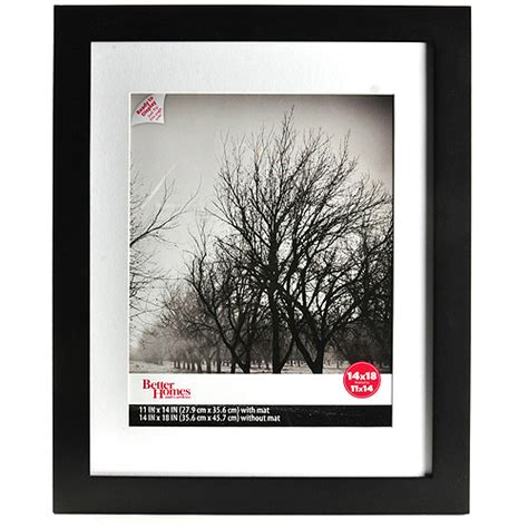 matted picture frame better homes and gardens flat gallery 14x18 matted picture frame walmart