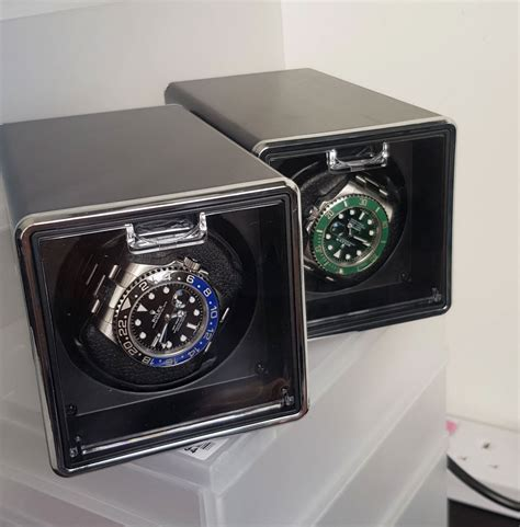 remontoir pour montres automatiques en cuir montres