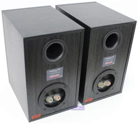 dynaudio audience 40 black ash bookshelf speakers whybuynew