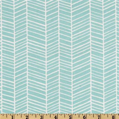 Modern Fabrics For Curtains Joel Dewberry Modern Meadow Herringbone Pond Discount Designer Fabric Fabric