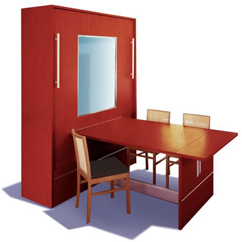 dining table murphy bed dining table