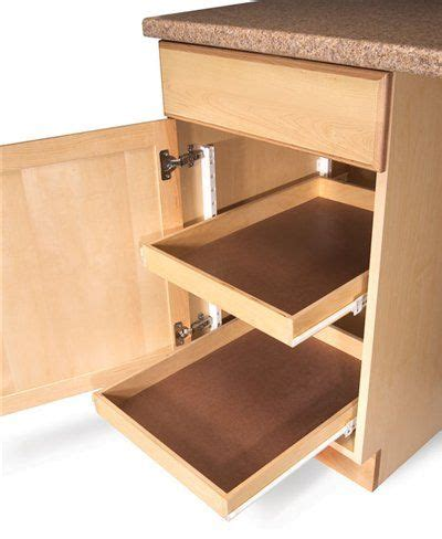 Add Pull Out Drawers Existing Cabinets by 25 Best Roll Out Shelves Ideas On Slide Out