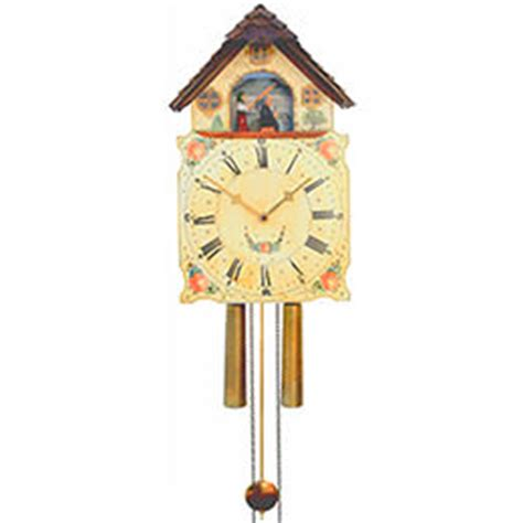 shieldclock 8 day movement 40cm by rombach & haas 7378