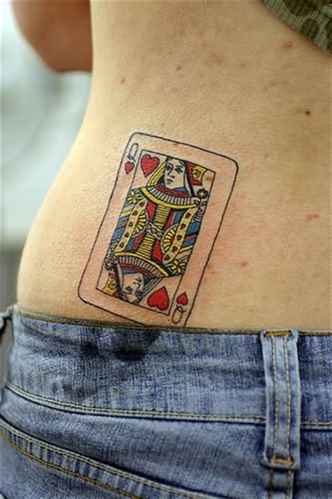queen of hearts tattoos 15 of hearts