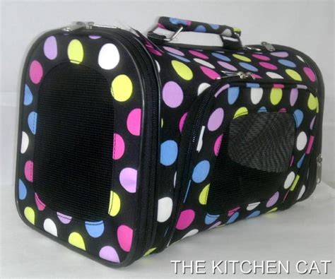 yorkie beds and carriers small polka dot carrier pet cat travel bed tote bag chihuahua yorkie size