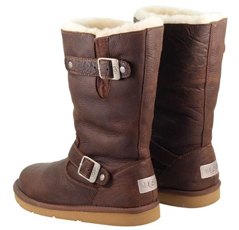 womans ugg boots ugg australia kensington boots in toast brown for