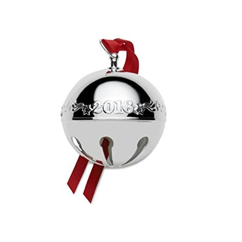 wallace silver bell 2018 wallace 5171043 wallace 2016 silver plated sleigh bell ornament 46th edition shop findsimilar