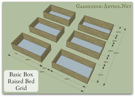 Cedar Raised Garden Beds Plans - easy to build raised bed garden plans