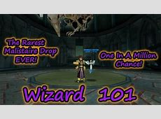 Wizard101: The Most Rare Malistaire Gear Drop EVER! Epic ... Wizard101 Sign Up Free