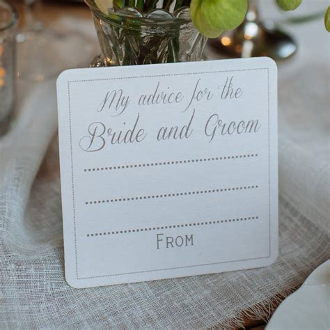 Wedding Advice For Groom by Advice For The Groom Coasters X 10 By The Wedding