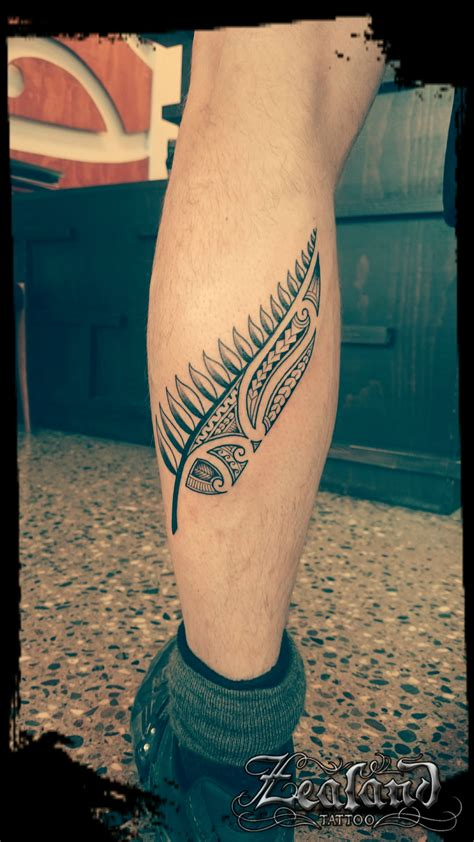 zealand tattoo queenstown maori silver fern tattoo zealand tattoo