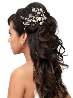 wedding hairstyles long brunette wedding hair on pinterest wedding hair half wedding