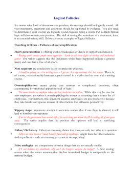 logical fallacy worksheet kidz activities