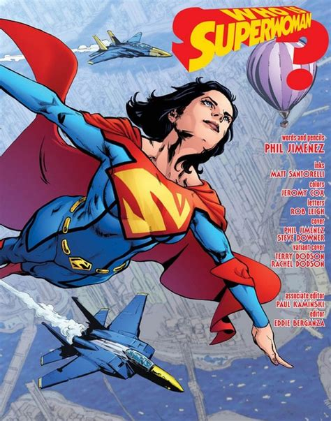 superwomen do it lessã or a helluva lot better a millennium guide to it all children a career and a loving relationship books lois gets in superwoman 1 preview