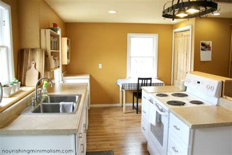 minimalist decor doesn t fit my minimalist life the tiny tour my minimalist kitchen nourishing minimalism