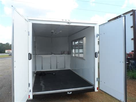 customer driving down motorway then lost powersteering checked fixya 2016 covered wagon consession enclosed 7x12 trailer with sink package ebay