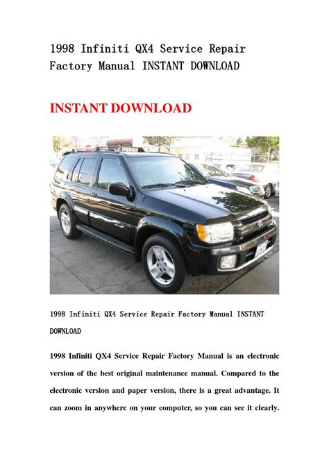 book repair manual 2011 infiniti qx parking system service manual 1998 infiniti qx acclaim radio manual 1998 infiniti qx4 owners manual