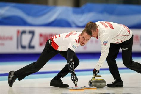sudden victory books italy and denmark book curling places at pyeongchang