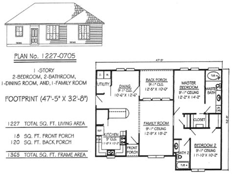 one level house floor plans simple one story 2 bedroom house plans www pixshark com