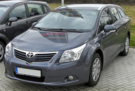 Toyota Avensis Dimensions 2011 2011 Toyota Avensis Iii Pictures Information And Specs