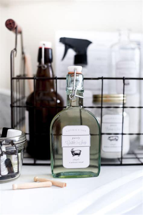 printable labels  diy natural  safe cleaning