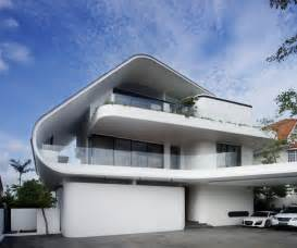 architectural designs world of architecture modern mansion defined by curves and tropical vegetation singapore