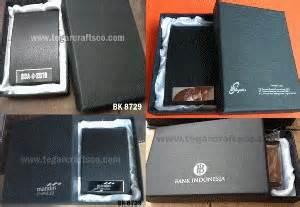 Dompet Kartu Tempat Kartu Nama Name Card Holder Ch0016 Hitam Black tegarcrafts souvenir eksklusif jual dan terima pesanan