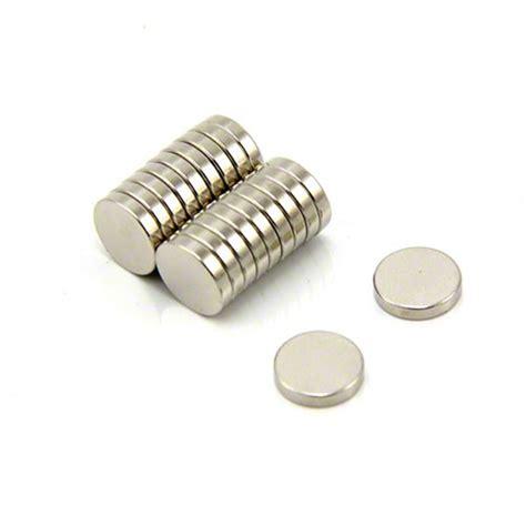 Magnet Neodymium Diameter 1 2cm Ketebalan 2mm 10mm dia x 2mm thick n35 neodymium magnet first4magnets