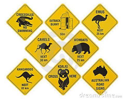 printable road signs australia australie roadsigns room decorations pinterest