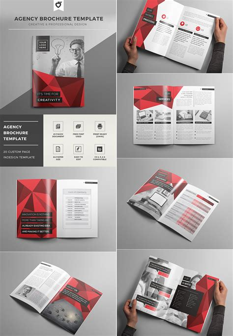 Creative Brochure Templates 20 best indesign brochure templates for creative