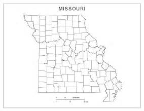 missouri blank map