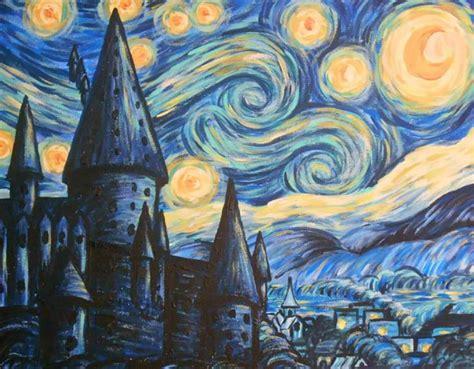 harry potter painting harry potter meets gogh lola s brush
