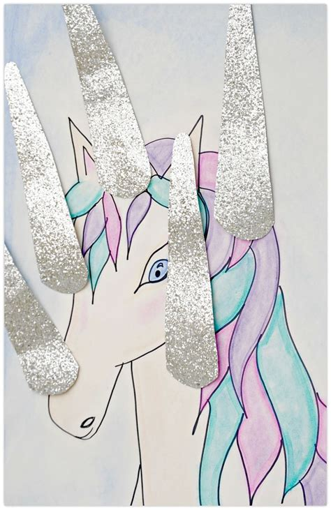 printable unicorn horn pin the horn on the unicorn party game f 246 delsedag