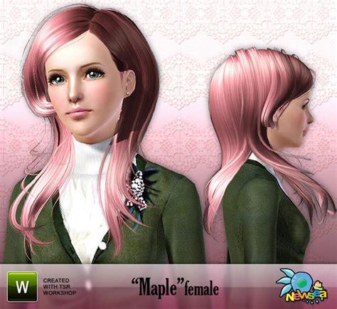 nautilus hair hair female maple newsea maple female hairstyle
