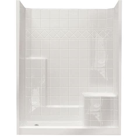 Single Stall Shower by Shower Inserts With Seat Shower Stalls For Small Bathroom