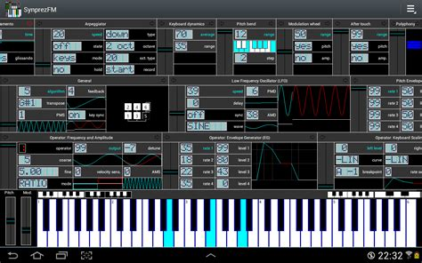 synth music fm synthesizer synprezfm ii android apps on google play