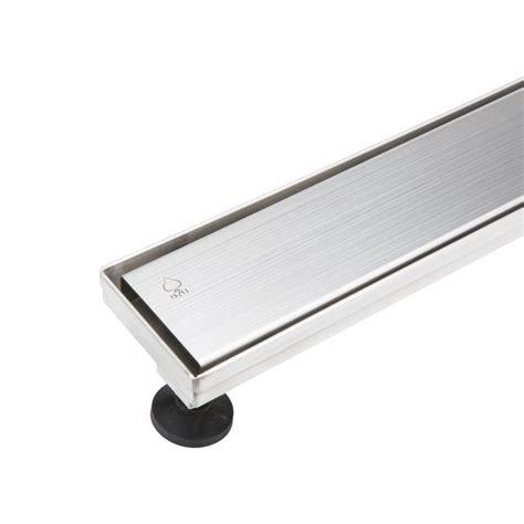 stainless steel bathtub drain bai 0557 stainless steel linear shower drain 32 quot shower