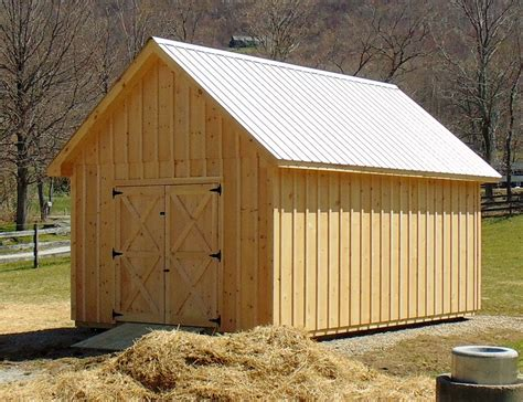 vermont sheds and barns custom built on site vermont