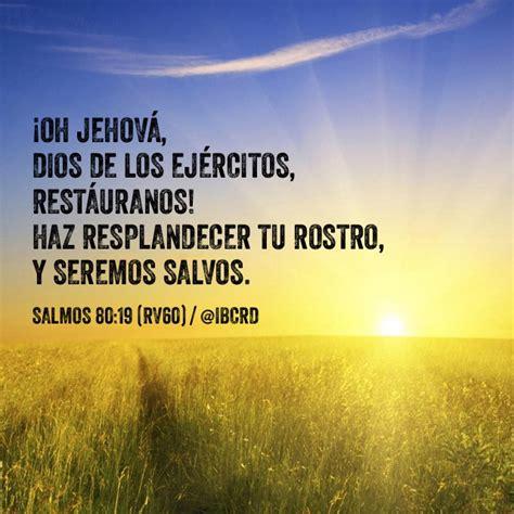preguntas biblicas para jovenes reina valera 1960 salmos 80 19 rv60 ibcrd el vers 237 culo del d 237 a