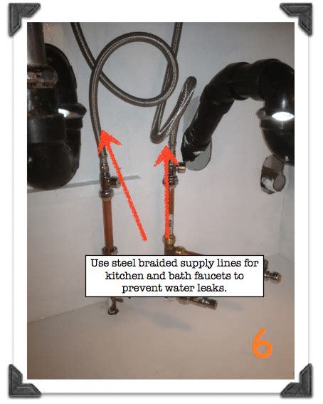 Kitchen Sink Water Supply Lines Valves Repair Free Engine Image For User Manual