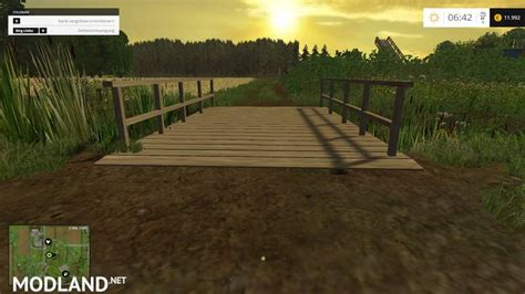 small wooden bridge small wooden bridge mod v 1 0 mod for farming simulator 2015 15 fs ls 2015 mod