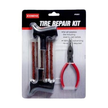 Tambal Tubless Alat Tambal Ban Tubeles Set jual coido set alat tambal ban tubeless darurat tire repair kit harga kualitas