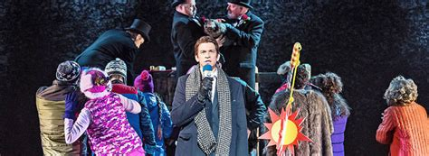 groundhog day west end four five for vic s groundhog day musical