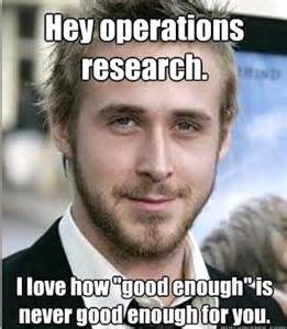Ryan Meme - my operations research meme punk rock operations research