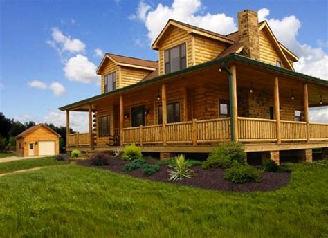 cost to build a house in missouri log cabin kits 8 you can buy and build bob vila